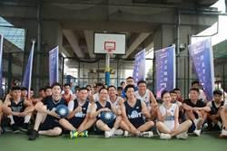 國民黨青年盃籃球決賽 丁守中、蔣萬安攜手投「藍」