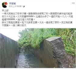 南市府護衛「豆腐渣」工程 李富城一句話回擊
