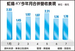 虹揚-KY 今年營收續拚新高