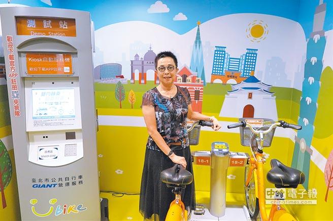 劉麗珠認為共享經濟若應用於交通領域,就必須考量社會責任。(記者陳政錄攝)