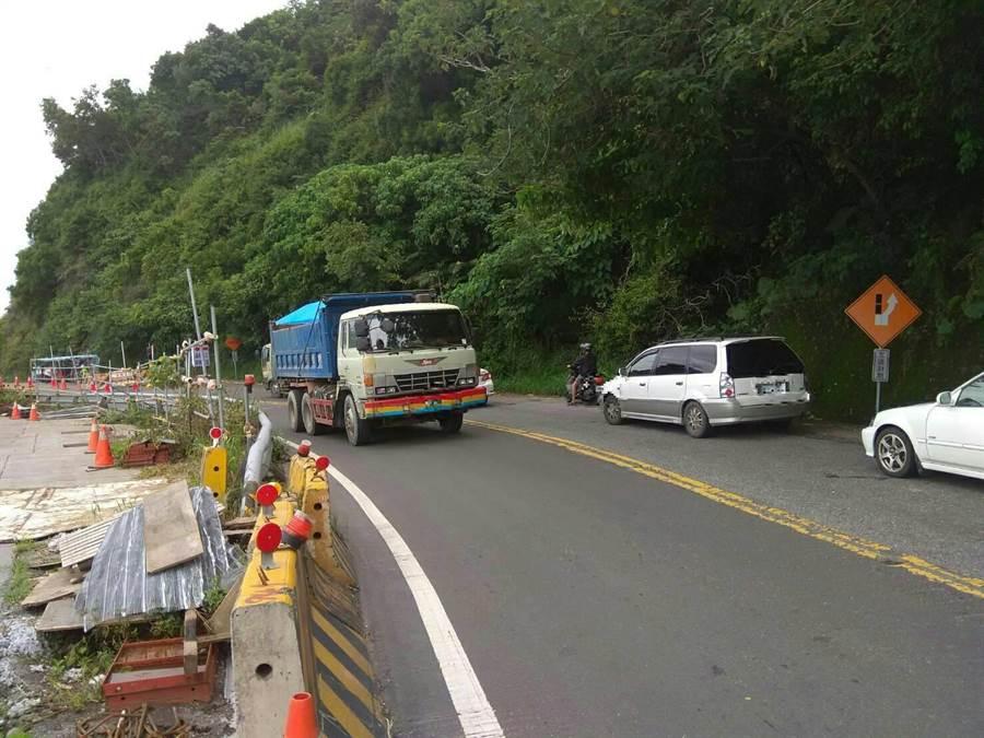 南迴公路新香蘭至金崙段 3日至10日夜間封閉。(楊漢聲翻攝)