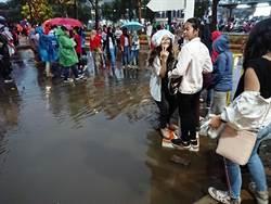 亞運》巫師驅雨破功?中華棒球隊被漏雨所苦