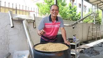 廢棄葡萄藤變身 炭化後改善土質還有葡醋液除臭驅蚊蟲