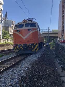 台鐵新竹段民眾遭撞 當場失去生命跡象