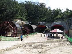 全國首創!安坑1號道路、捷運3連孔隧道貫通