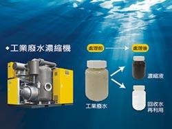 台灣快密刀 推工業廢水濃縮機