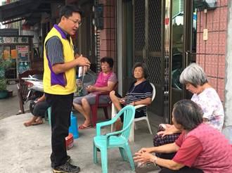 鄉長參選人蕭同宏另類農業行銷 將中寮橙花製成精油護手霜