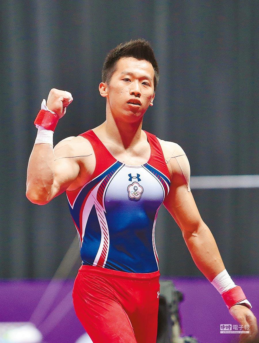 李智凱的「湯瑪士迴旋」,是奧運爭鋒的利器。(陳怡誠攝)