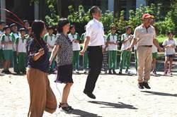 虎山國小推動「為愛而跳」 高難度花式跳繩表演