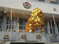 金毛獅王好閃亮!北埔鄉公所:這不是獅子