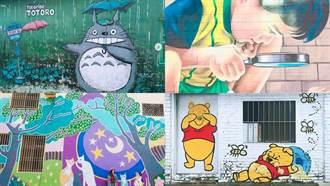 必去打卡點 ! 台南五個彩繪村全是好拍後花園