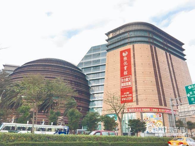 京華城購物中心底價380億元,預計12月12日開標。(資料照/曾百村攝)