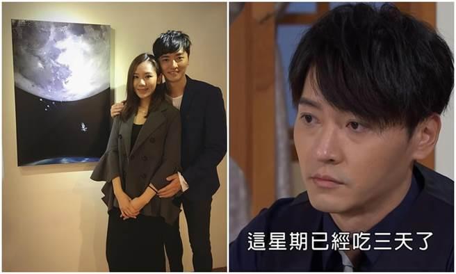本名馬如龍的馬俊麟,將與妻子梁敏婷一起開畫展。(民視提供)