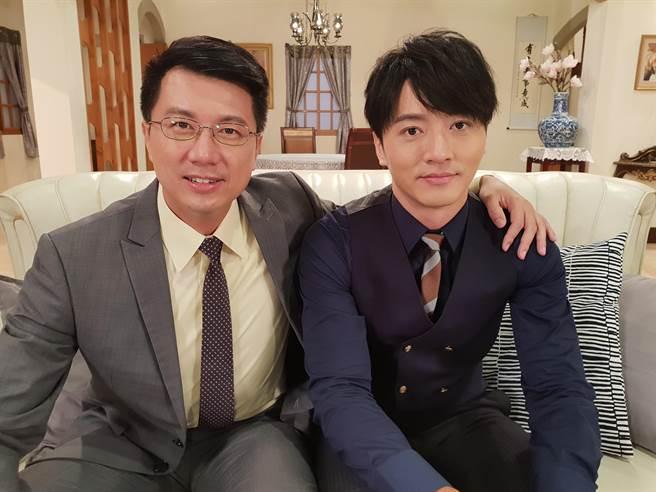 馬俊麟劇中飾演吳皓昇的兒子。(民視)