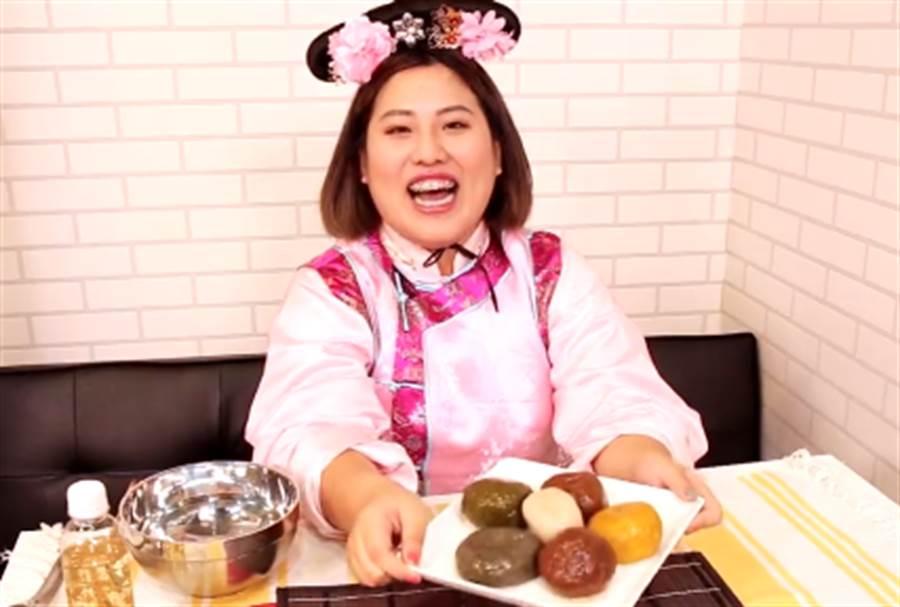 《延禧》貴妃最愛宮廷點心 網紅特製「看著就飽」藕粉丸子