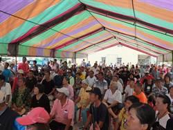 布袋鎮岑海里民再抗議 港務公司無誠意解決823淹水