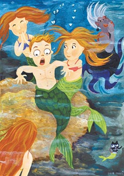 童嘉繪童話-小美人魚