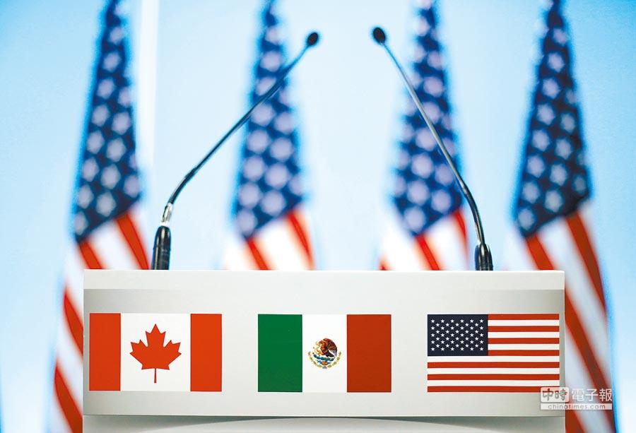 美國與加拿大周三重啟貿易談判。圖/路透