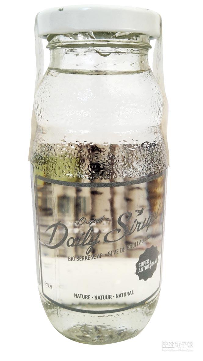 來自比利時的白樺樹液品牌Daily Sirupi。圖/業者提供