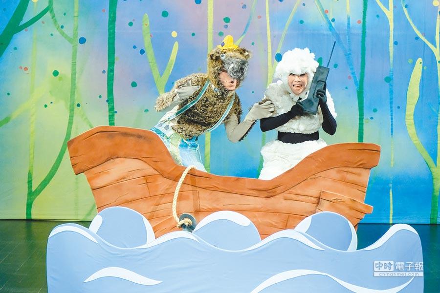 玉米雞劇團將自9月12日起,一連12場次在新竹縣文化局實驗劇場演出。(莊旻靜攝)