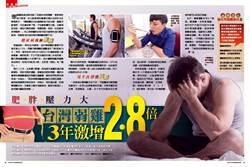 肥胖壓力大 台灣弱雞3年激增2.8倍