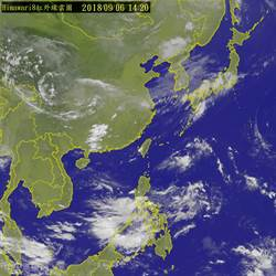 氣象專家群起質疑雙颱哪來 李富城回嗆:搶你飯碗了?