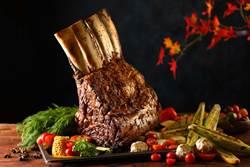 肉食主義者最愛!50樓Café祭出大份量美食「帶骨肋眼戰斧牛排」