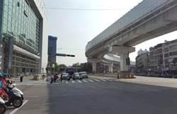 注意!下周二起板橋縣民大道與漢生東路口  調整號誌及車道配置