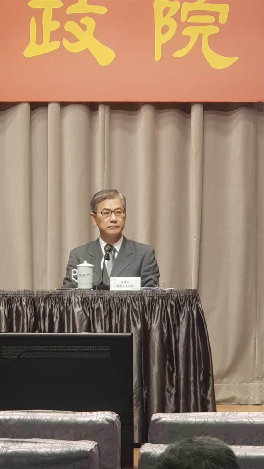 金融會副主委黃天牧說明金融創新強化資安作為及創新實驗成果(呂雪彗攝)
