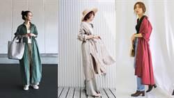 看日本女生輕鬆換季!利用長版襯衫穿搭出早秋的愜意