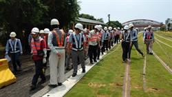 工程會查核高雄輕軌捷運工程 肯定施工品質