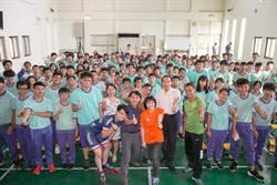 體壇》體育蒲公英校園座談會 薛楚頻、黃怡學鼓勵追夢