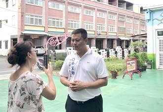 南投》17愛竹山 蔡宜助9999捐玫瑰啟能中心
