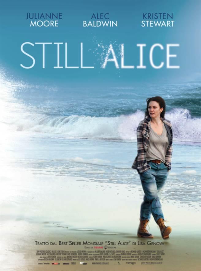 《我想念我自己》(Still Alice)電影海報。(圖/網路)