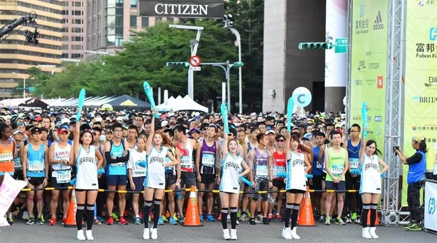 馬拉松跑者。(資料照片)