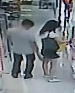 百货用品店内偷拍短裙女 男子落网称酒后「冻未条」