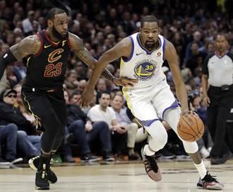 NBA》杜蘭特下季超越詹皇?小AI:我會鞭策他