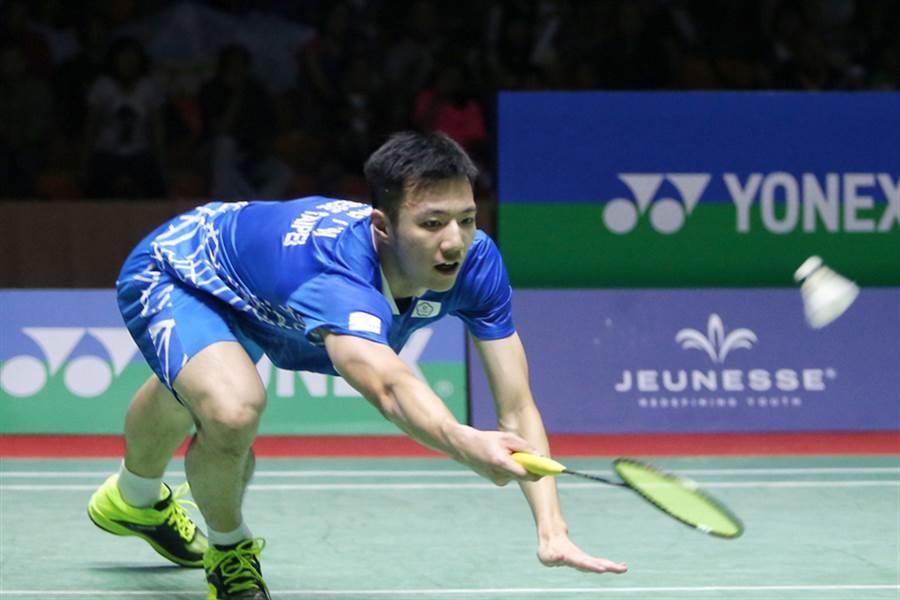 王子維連續兩年世錦賽止於男單32強。(資料照/中央社記者徐肇昌攝 107年9月8日)