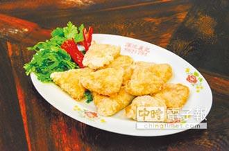 豆腐蝦仁捲 外酥內嫩又多汁