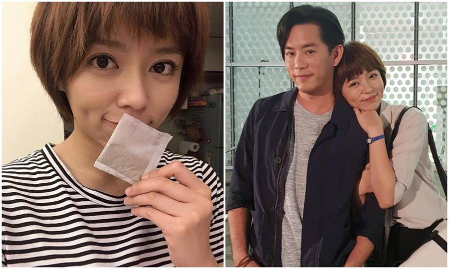 王瞳與Junior合作《大時代》。因起紅疹靠吃中藥調理。(民視)