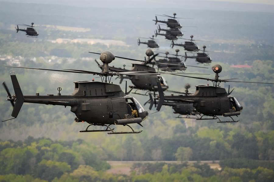 美國陸軍在2010年把OH-58D給全部裁徹,現在又希望有新的戰搜直升機。(圖/美國陸軍)