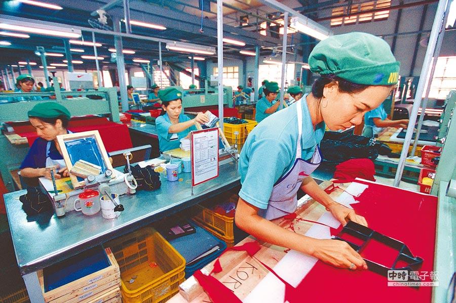東南亞暫難以取代大陸世界工廠地位。(CFP)
