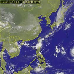 雙颱來亂!熱低壓將成颱 山竹轉強颱接力炸全台