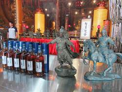 台南佳里永昌宮發表趙子龍銅雕 年底赴大陸交流