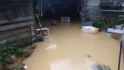 新西街又淹了! 謝立功轟基市府反被酸「現在不缺口水」