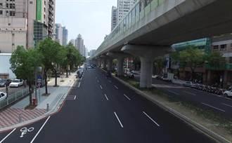 海綿城市對抗強降雨趨勢!中市文心路人行道「會呼吸」