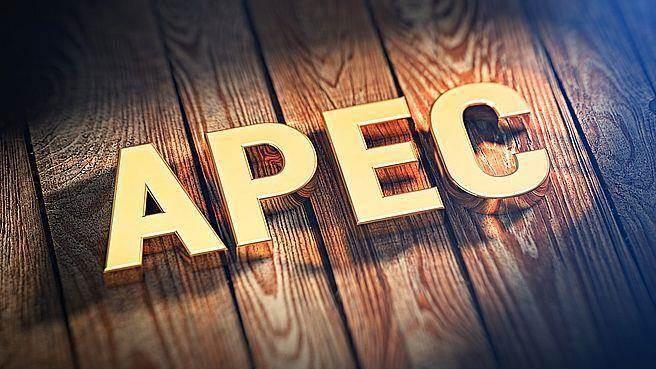 1989年成立的APEC,為亞太區域最重要經貿合作論壇,共21個會員/經濟體(Member Economies),台灣於1991年以Chinese Taipei(中華台北)名義與陸、港同時加入。