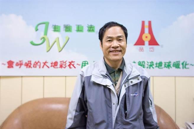 「JW生态工法」发明者陈瑞文。(图/翻摄gabreport.com)