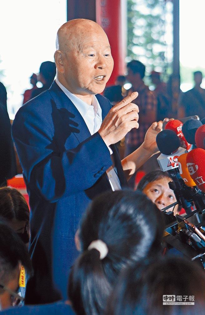 民進黨前黨主席許信良。(本報系資料照片)