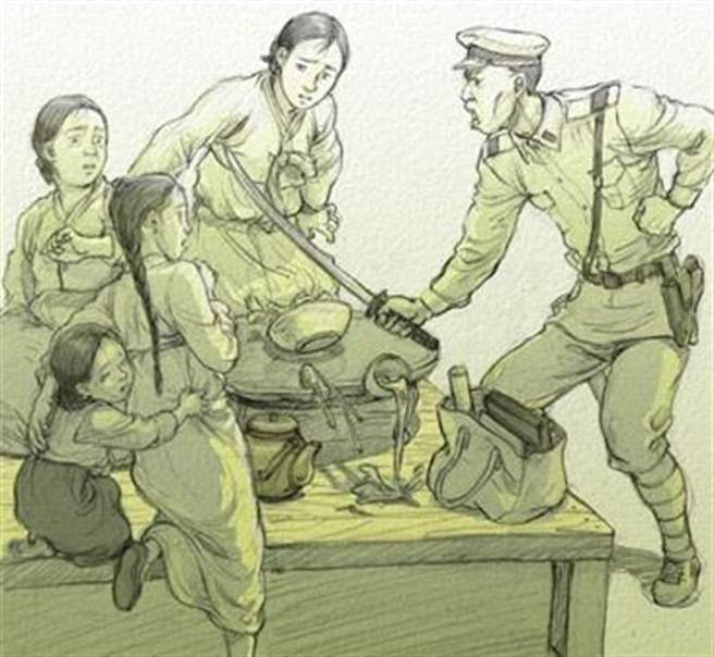韓國曾在2014年安古蘭國際漫畫節上展出慰安婦歷史特展。(圖/網路)